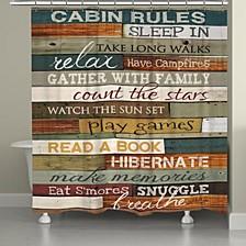 Cabin Rules Bath Accessory Collection