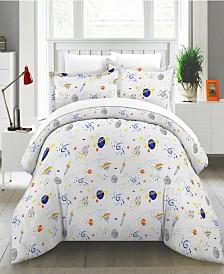 Space Duvet Set- F/Q
