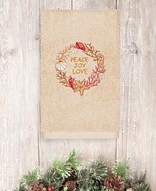 Linum Home Christmas Peace 100% Turkish Cotton Hand Towels