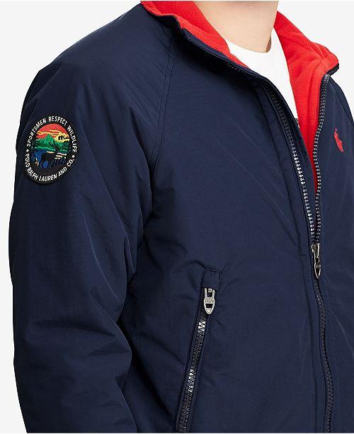 a7bb8af60 Polo Ralph Lauren Men's Great Outdoors Water-Repellent Jacket ...