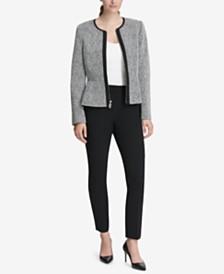 DKNY Peplum Jacket & Skinny Pants