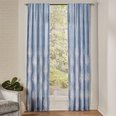 "Boutique Zoelle 84"" x 84"" Curtain Window Panel Pair"