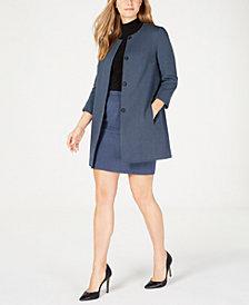 Anne Klein Topper Jacket, Mock-Neck Blouse & Skirt