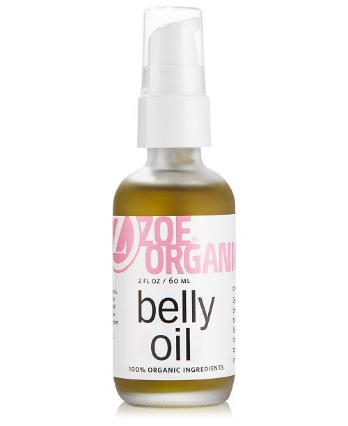 Zoe Organics Belly Oil, 2 fl. oz.
