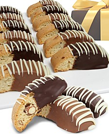 12-Pc. Belgian Chocolate Dipped Biscotti Assortment