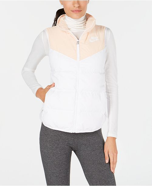 507a23143e64 Nike Sportswear Windrunner Reversible Sleeveless Down Vest   Reviews ...