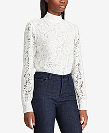 Lauren Ralph Lauren Lace Top