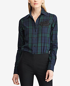Lauren Ralph Lauren Tartan Cotton Shirt
