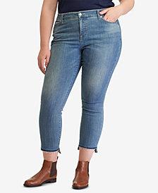 Lauren Ralph Lauren Plus Size Premier Straight Ankle Jeans