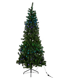 Kurt Adler 7-Foot Pre-Lit Twinkly LED Pine Tree