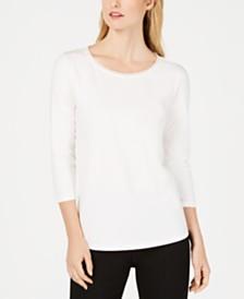 Weekend Max Mara 3/4-Sleeve T-Shirt