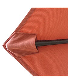 Bistro 7.5-Ft Hexagonal Market Umbrella - Olefin Canopy