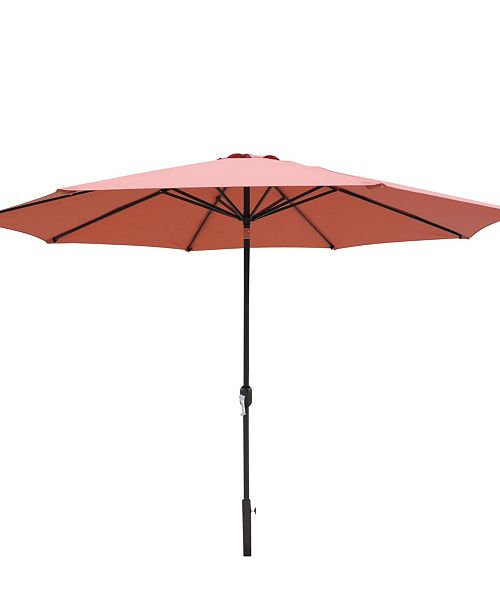 Blue Wave Calypso 11-Ft Octagonal Market Umbrella With Auto-Tilt Olefin
