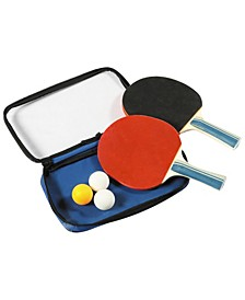 Control Spin Table Tennis 2-Player Racket and Ball Set