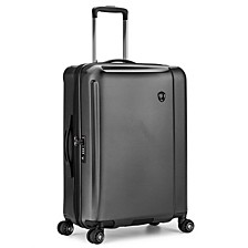 "Halow 25"" Polycarbonate Spinner Suitcase"