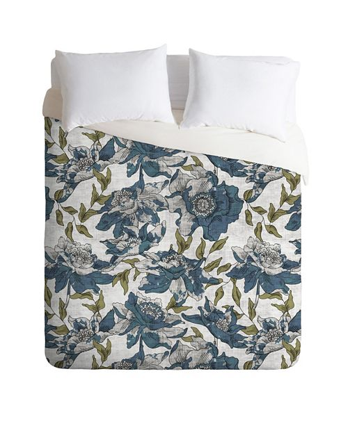 Deny Designs Holli Zollinger Summertime Evening Queen Duvet Set