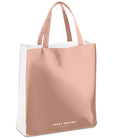 Receive a Complimentary Tote with any large spray purchase from the Issey Miyake women's fragrance collection
