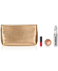 Receive a FREE Trial-Size 3-Pc. gift & Cosmetic Bag with any $45 bareMinerals purchase
