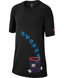 Nike Big Boys Kevin Durant 35-Print T-Shirt - Shirts   Tees - Kids ... 5c7de1435