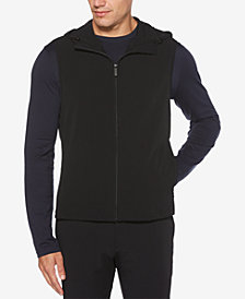 Perry Ellis Men's Zip-Front Hooded Vest