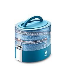 Vaya Tyffyn 600 Denim Lunch Box without Bagmat - 20 oz