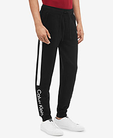 Calvin Klein Men's Fleece Logo Jogger Pants