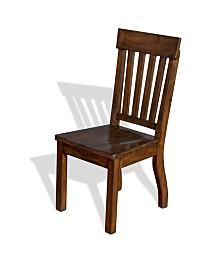 Lancaster Rustic Cherry Slatback Chair