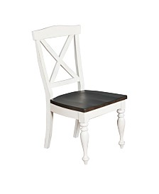 Carriage House European Cottage Crossback Chair