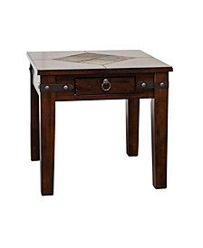 Santa Fe Dark Chocolate End Table