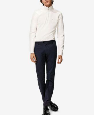 Men's Extra-Fine Cotton Gingham Slim-Fit Shirt