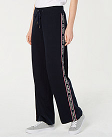 Tommy Hilfiger Logo Knit Pants, Created for Macy's