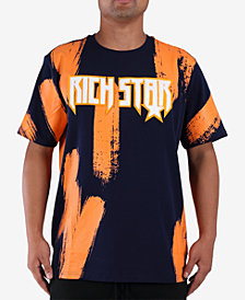 Rich Star Men's Painted Graphic T-Shirt