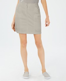Karen Scott Petite Stretch Skort, Created For Macy's