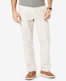 Dockers Men's Utility Cargo Classic Fit Stretch Khaki Pants