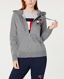 Tommy Hilfiger Sport Varsity Letter Logo Hoodie