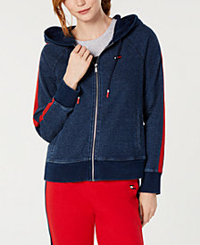 Tommy Hilfiger Sport Cotton Zip-Up Hoodie