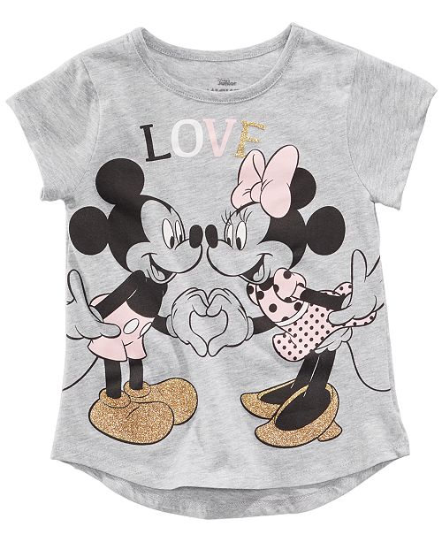67793b898f16a Disney Toddler Girls Mickey & Minnie Mouse Love T-Shirt & Reviews ...