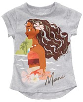 92632157 Disney Little Girls Moana Graphic-Print T-Shirt