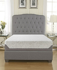 "Ultima 10"" Medium Firm Cooling Air Flow Memory Foam Mattress, King"