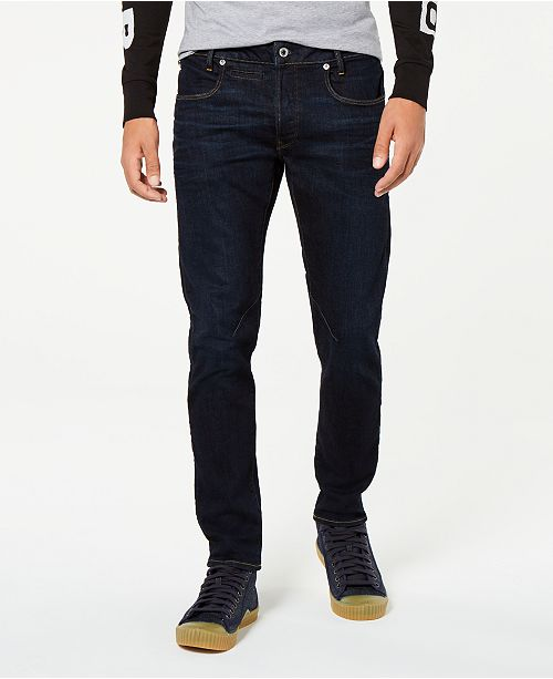 Men's D Staq 5 Pocket Slim Fit Jeans, Created for Macy's