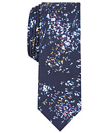 Original Penguin Men's Edcugis Skinny Abstract Tie