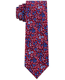 Tommy Hilfiger Men's Slim Floral Tie