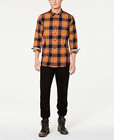 American Rag Men's Plaid Shirt & Cargo Pants, Created for Macy's