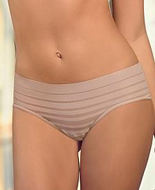 Lace Stripe Hiphugger Panty 012921