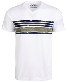American Rag Men's Chest-Stripe T-Shirt, Created for Macy's