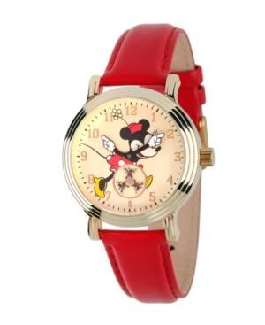 Disney Minnie Mouse Women's Gold Vintage Alloy Watch