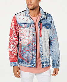 Reason Men's Worldwide Denim Jacket