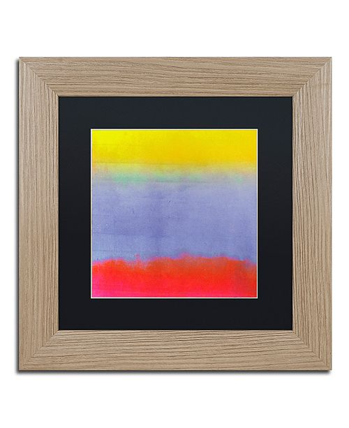 """Trademark Global Color Bakery 'Gradients Iii' Matted Framed Art, 11"""" x 11"""""""
