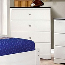 Contemporary Style Chest with 4 Drawers