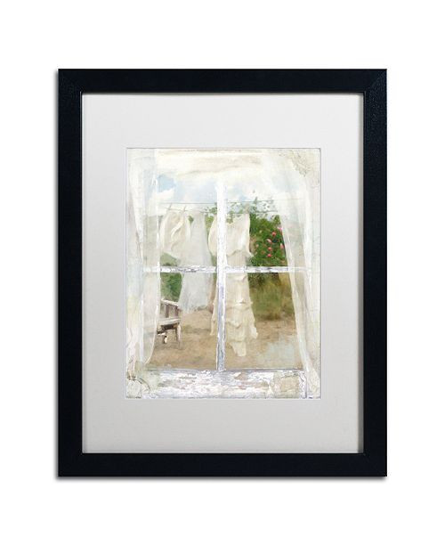 "Trademark Global Color Bakery 'Summer Me Iv' Matted Framed Art, 16"" x 20"""